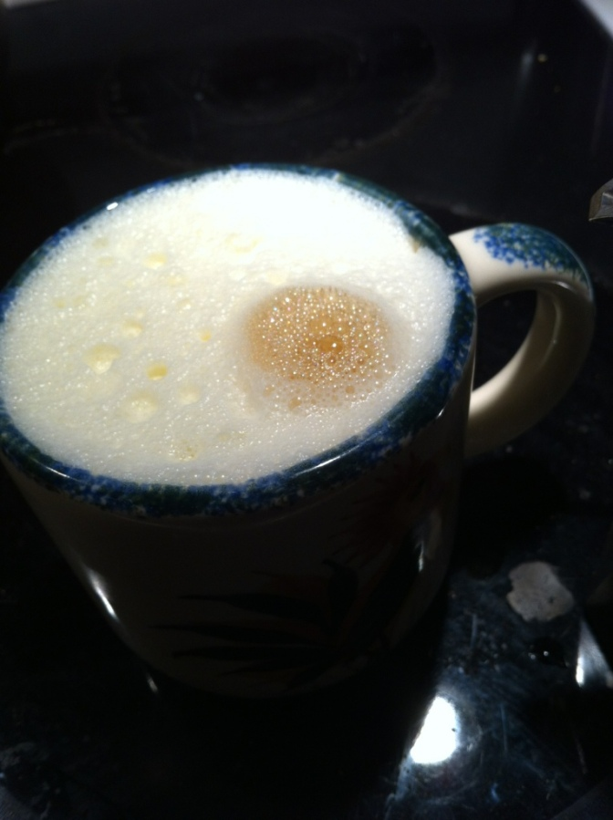 Raw Milk Latte