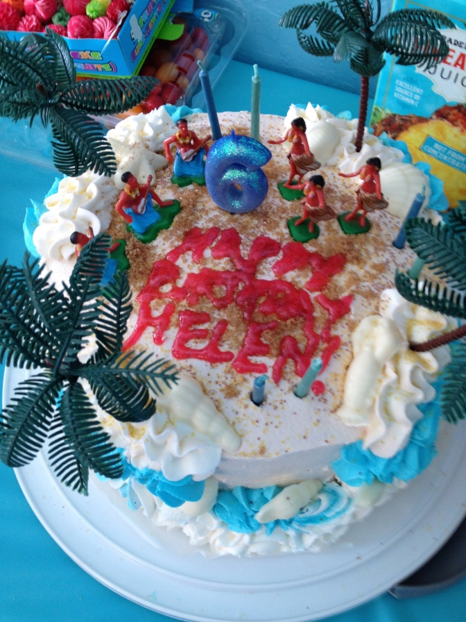 Aloha! A Very Hula Mermaid Birthday…